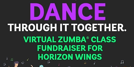 FUNDRAISER Virtual Zumba Classes for Horizon Wings tickets