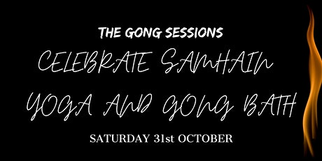 Celebrate Samhain and the Full Moon: Yoga and Gong Bath tickets