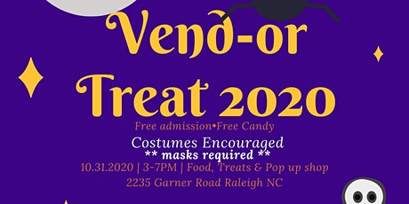 Halloween Vend-or Treat tickets