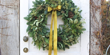 Make a Gorgeous Holiday Wreath with Antonio tickets