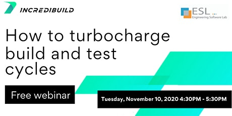 How to Turbocharge Build and Test Cycles tickets