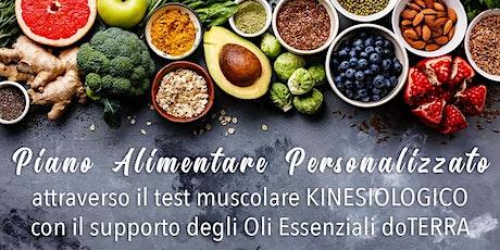 (AP) Piano Alimentare Kinesiologico con Oli Essenziali biglietti