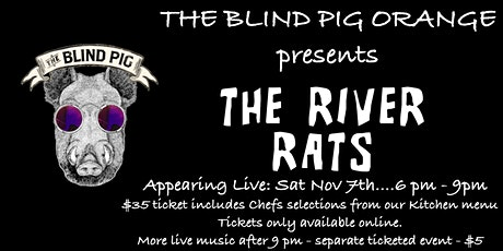 Dinner & The River Rats Live tickets