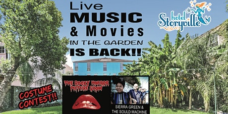 Halloween with Sierra Green & the Soul Machine & Rocky Horror - New Orleans tickets