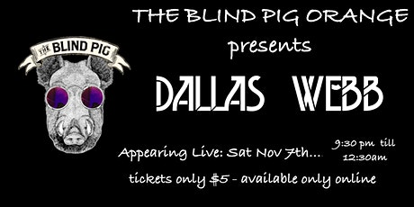 Dallas Webb Live tickets
