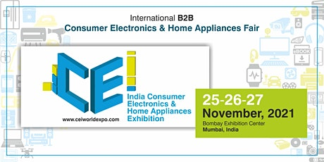 India Consumer Electronics & Home Appliances Exhibition tickets