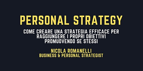 Personal Strategy biglietti