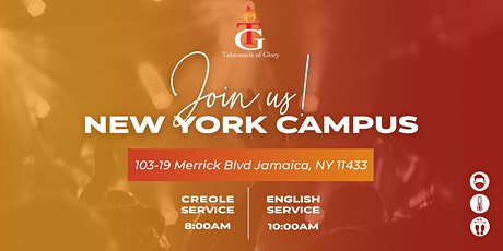 TG New York  - Sunday, December 20th, 8:00 AM Service tickets