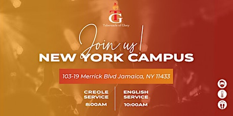 TG New York  - Sunday, December 27th, 8:00 AM Service tickets