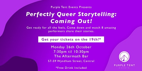 Perfectly Queer Storytelling: Coming Out! tickets