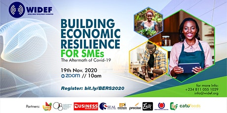 Building Economic Resilience for SMEs Conference tickets
