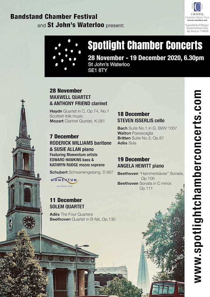 Spotlight Chamber Concerts image