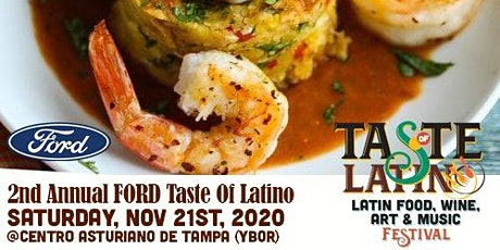 2nd Annual Ford's Taste of Latino Festival tickets