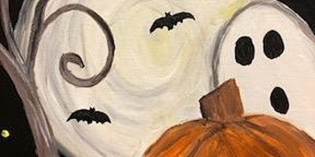 Halloween Night Virtual Kids' Paint Class tickets