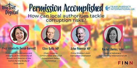 Permission Accomplished: How can local authorities tackle corruption risks? tickets