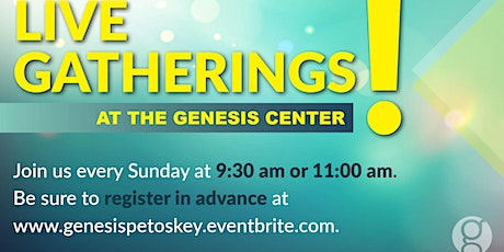 Sunday Oct. 25 - 11:00am  Gathering tickets