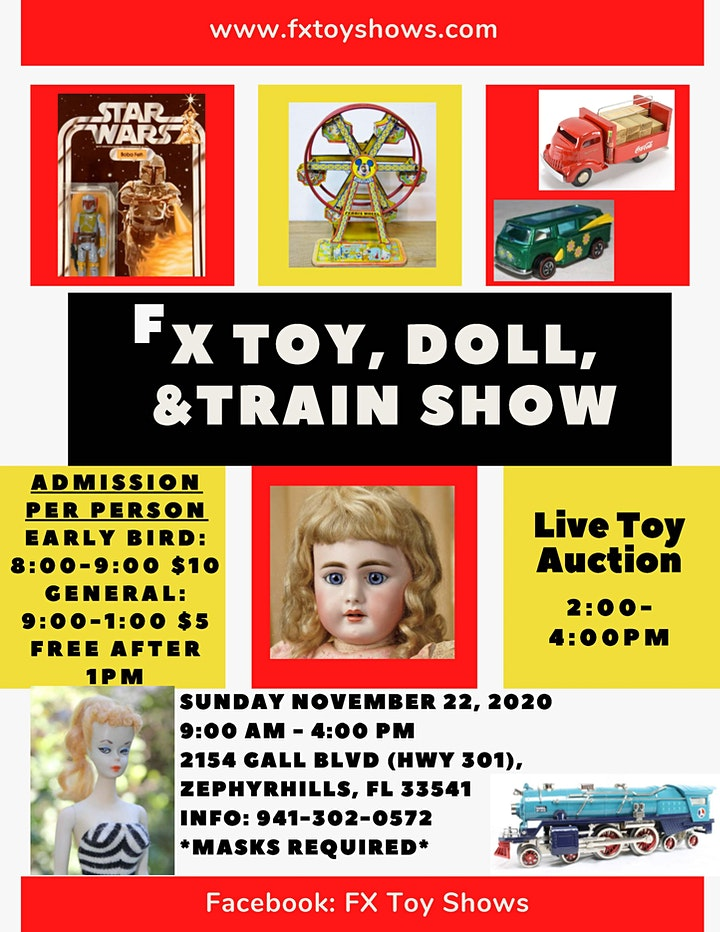 FX Toy, Doll & Train Show image