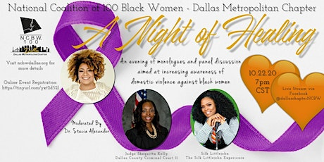 Domestic Violence Awareness: A Night of Healing tickets