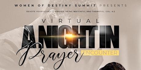 "Virtual ""A Night in Prayer"" Encounter tickets"