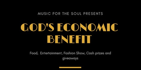 God's Economic Benefit tickets