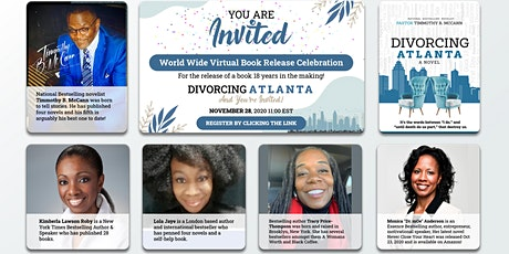 Divorcing Atlanta: Book Launch, with 5 (FIVE)Bestselling Novelist! tickets