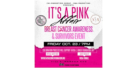 It's A PINK Affair!!! tickets