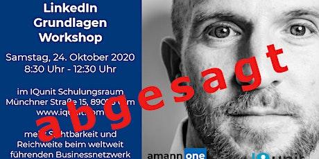 LinkedIn Grundlagen-Workshop Tickets
