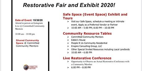 Restorative Fair and Exhibit 2020 tickets