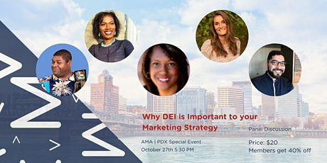 Why DEI is Important to your Marketing Strategy tickets