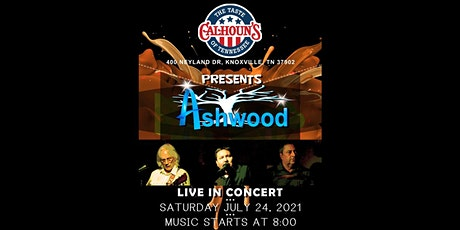 ASHWOOD Live at Calhoun's on the River in Knoxville tickets