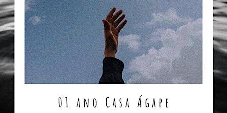 01 ANO CASA ÁGAPE billets