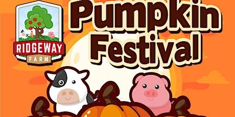 Friday 23 rd October 2020 Pumpkin Festival tickets