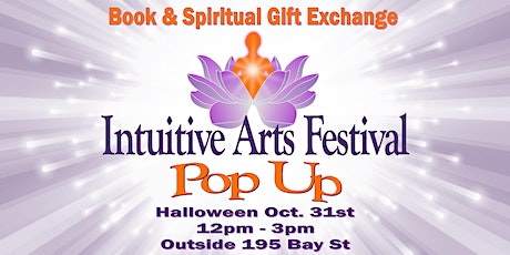 Book and Spiritual Gift Exchange - Intuitive Arts Festival Pop Up tickets