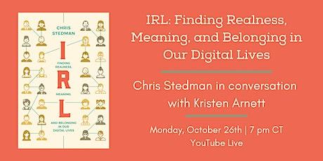 IRL: A Conversation with Chris Stedman and Kristen Arnett tickets