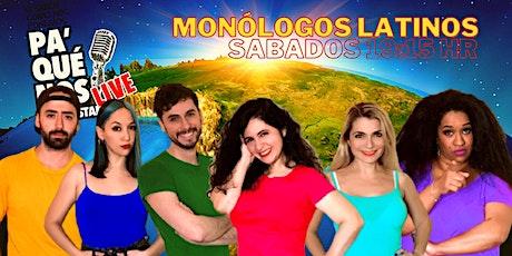 Monólogos latinos entradas
