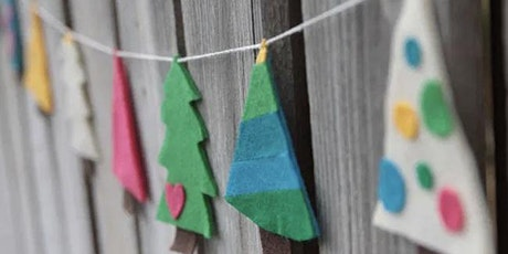 Virtual Craft Class - Make A Christmas Bunting Craft Class tickets