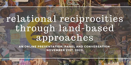relational reciprocities through land-based approaches tickets