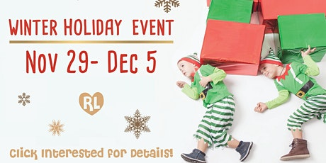 Rhea Lana's of Jonesboro 2020 Winter Holiday Event tickets