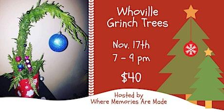 Whoville Grinch Tree Workshop tickets