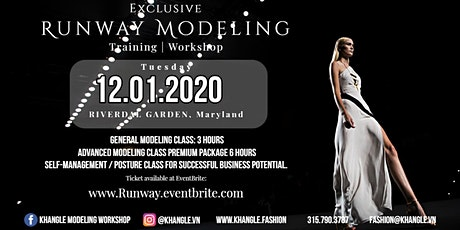 EXCLUSIVE Runway-Modeling Training Workshop tickets