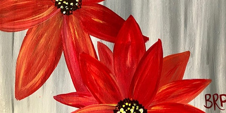 Virtual Painting  Fall Flowers tickets