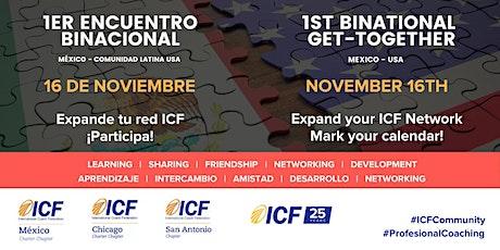 1er Encuentro Binacional Comunidad Global ICF México-USA tickets