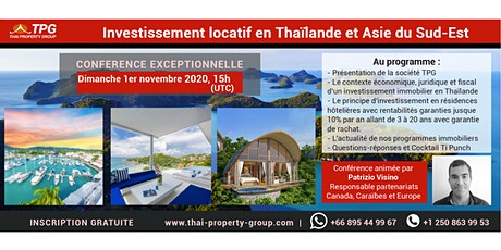 ***Web conference on the benefits of retiring in Thailand*** billets