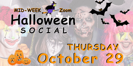 Halloween Social ~ Icebreakers ~ Costumes Optional ~ Online Zoom tickets