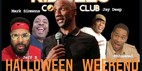 Damon Williams Presents Halloween Comedy at Riddles tickets