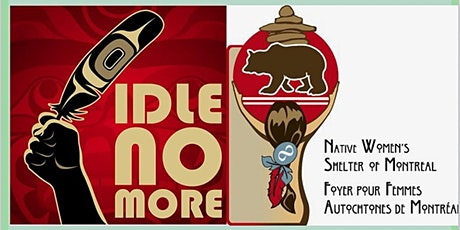 #IdleNoMore Virtual Fundraising March for Indigenous Rights biglietti