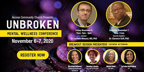 Unbroken: Mental Wellness Conference tickets