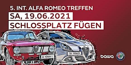 HAUPTTREFFEN => 5. Int. Alfa Romeo Treffen TIROL Tickets