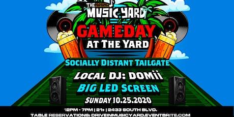 Gameday @ The Yard
