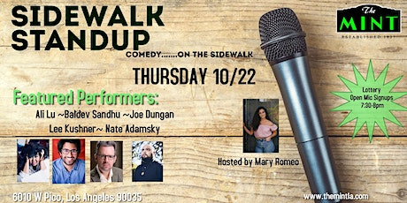 Sidewalk Standup - comedy....open mic,  PLUS FEATURED PERFORMANCES tickets